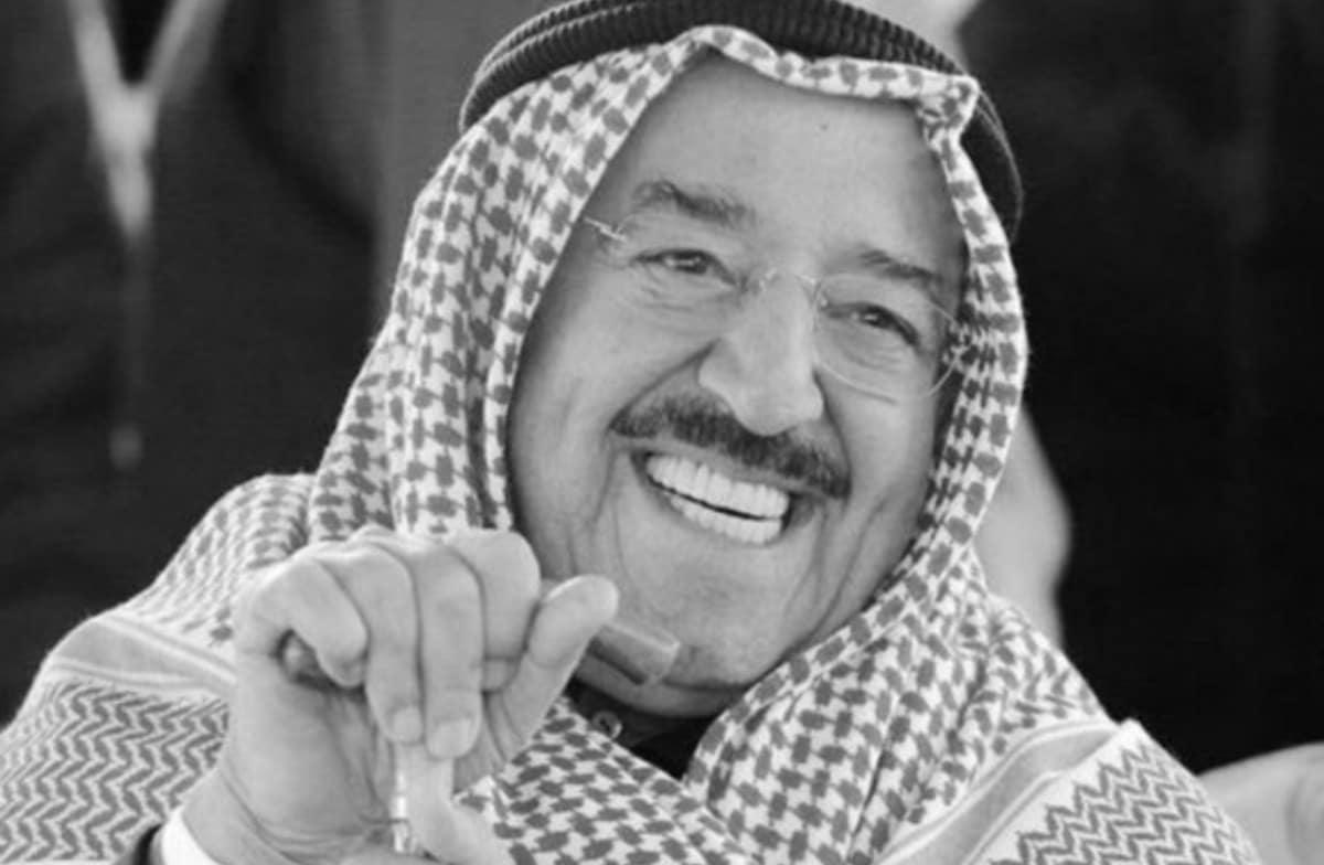 امير الكويت الراحل صباح الاحمد الجابر الصباح