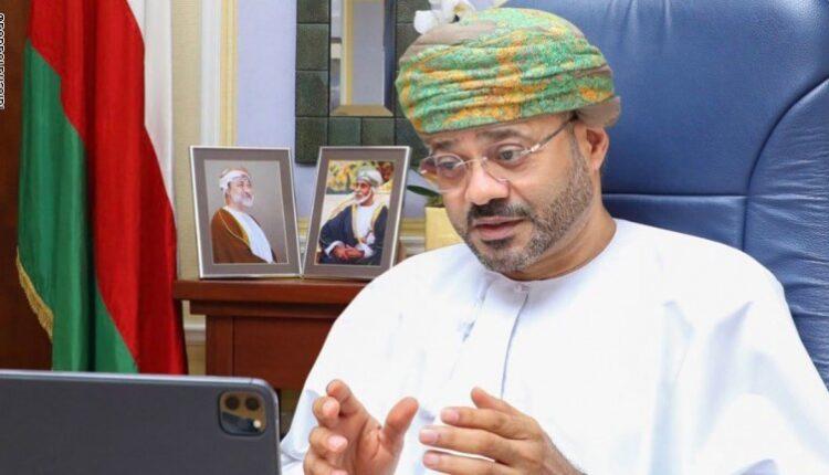 بدر البوسعيدي وزير الخارجية العماني
