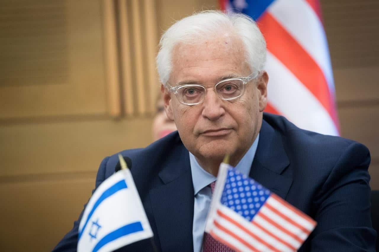 ديفيد فريدمان سفير أمريكا في إسرائيل - ضم الضفة الغربية