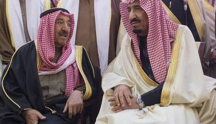 الملك سلمان - امير الكويت