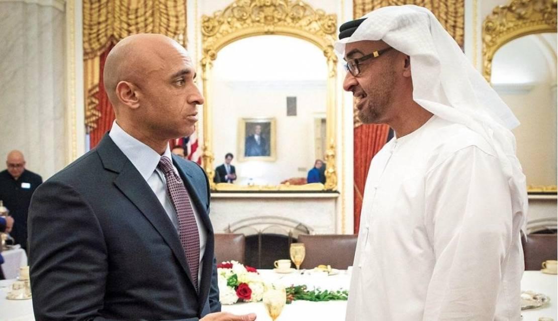 يوسف العتيبة ، الأزمة الخليجية