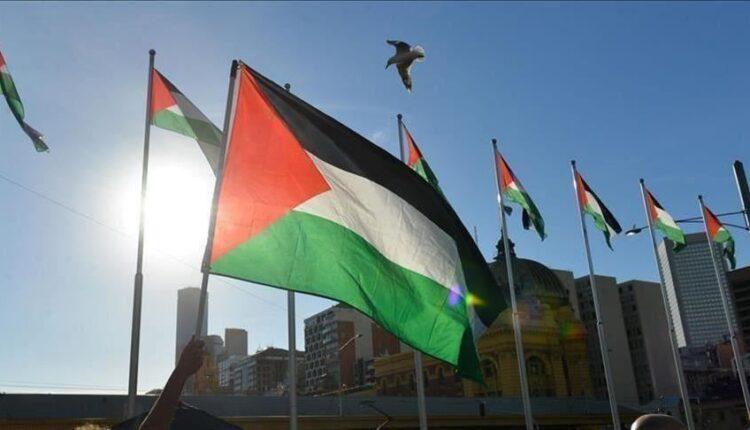 علم فلسطين - التطبيع