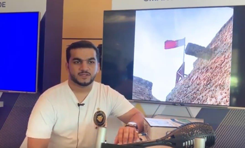 الشاب العماني أحمد الجابري