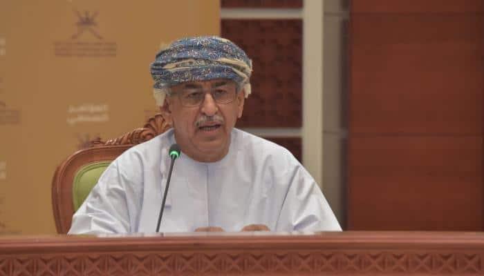 أحمد السعيدي وزير الصحة العماني