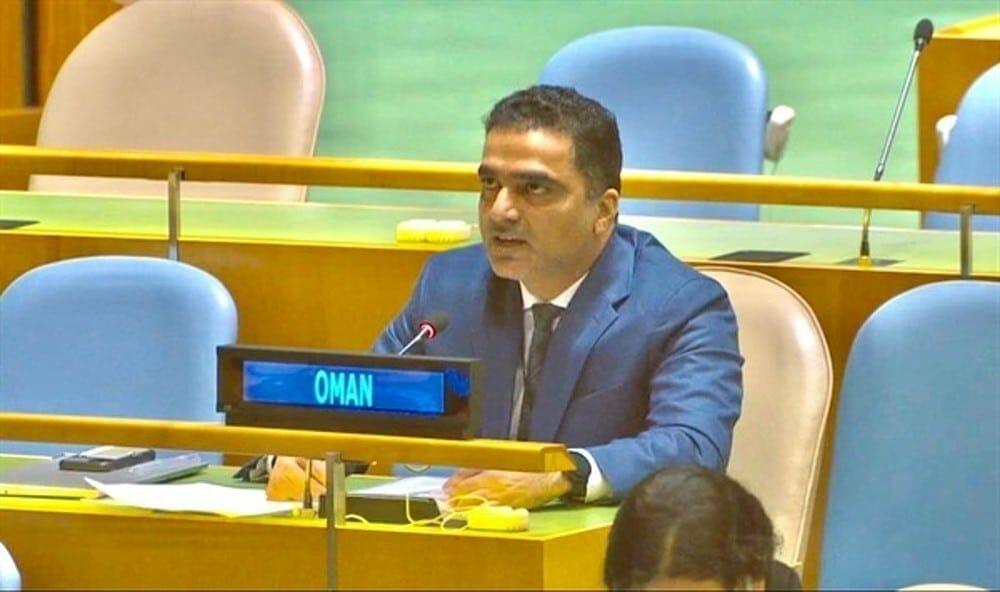 أحمد بن داود الزدجالي نائب مندوب وفد سلطنة عُمان الدائم لدى الأمم المتحدة