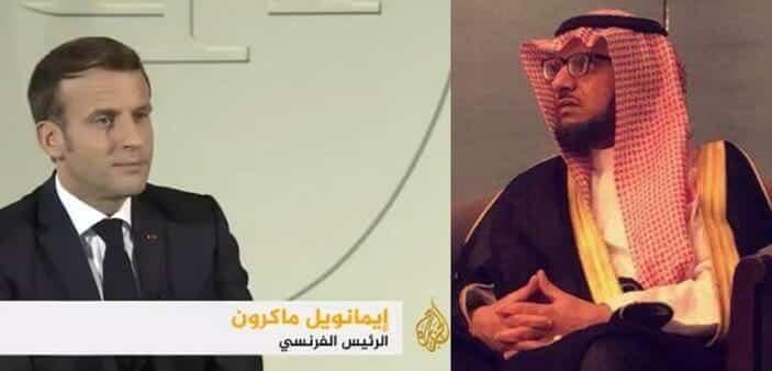 الأمير خالد آل سعود يهاجم الجزيرة لاستضافتها ماكرون