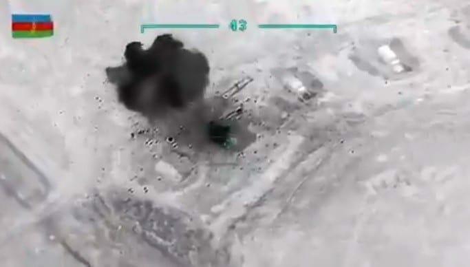 الجيش الأذربيجاني يستخدم طائرات بيرقدار التركية في ضرب اهداف أرمينيا
