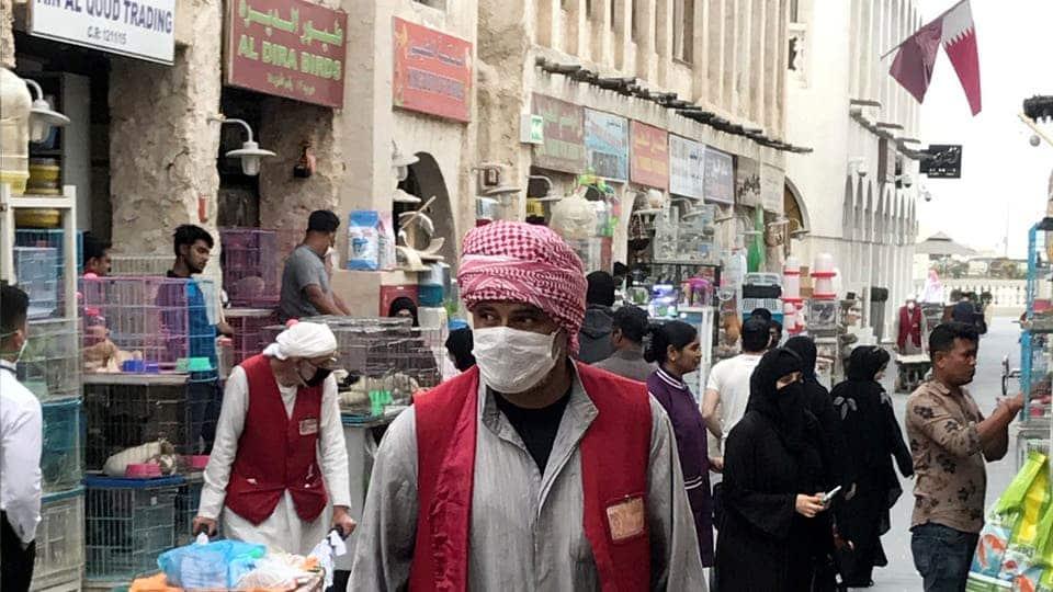 الدوحة كورونا في قطر