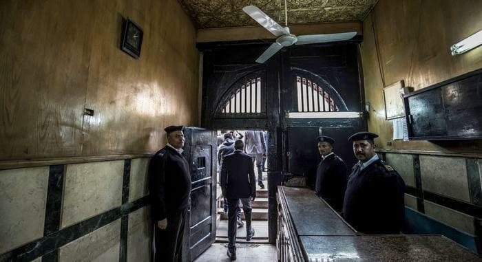 السجون المصرية سجن اونلاين اون لاين حبس عن بعد