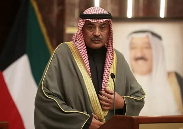 رئيس وزراء الكويت الشيخ صباح الخالد الصباح