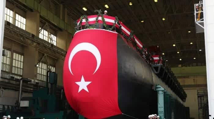 الغواصة بيري ريس غواصات تركيا