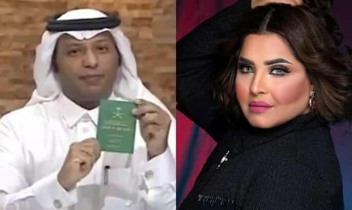 المذيع السعودي مفرح الشقيقي يهاجم هيا الشعيبي