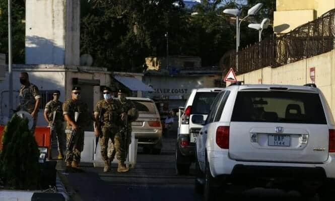 المفاوضات اللبنانية الاسرائيلية