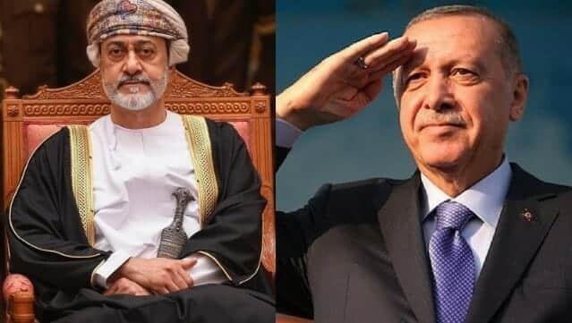 اردوغان - هيثم بن طارق عمان وتركيا