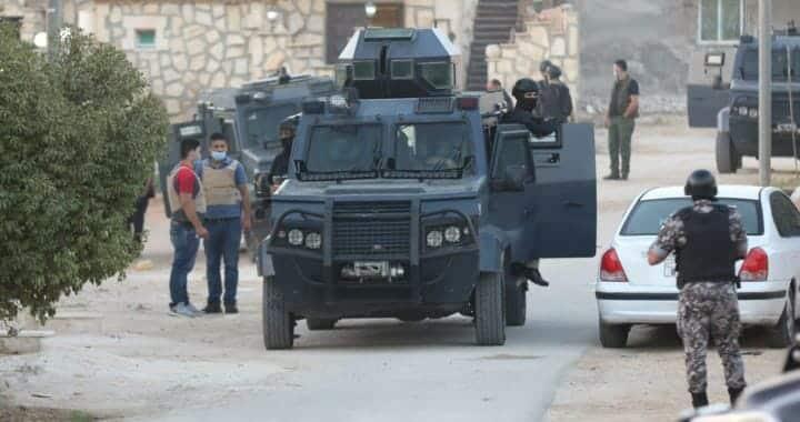 الأمن الأردني - الزعران في الاردن