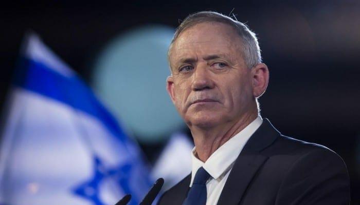 بيني غانتس وزير الجيش الإسرائيلي