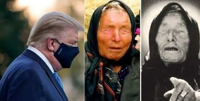 """العرافة البلغارية العمياء """"فانغا"""" تنبّأت بإصابة ترامب بـ""""فيروس خطير"""" .. وهذا مصيره"""