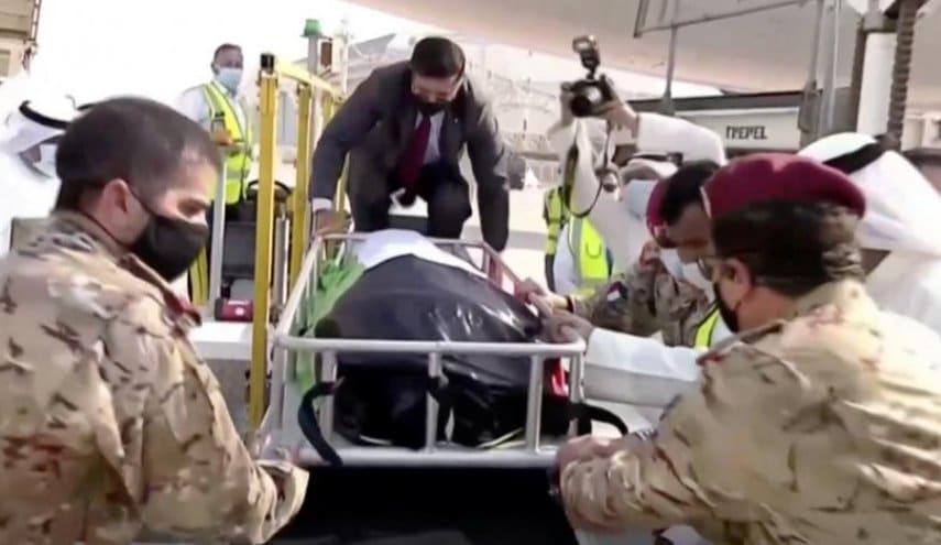 جنازة أمير الكويت الشيخ صباح الأحمد