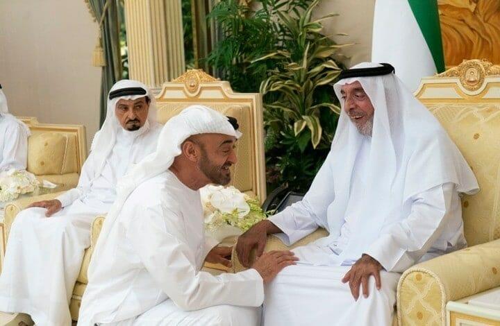 خليفة بن زايد وشقيقه محمد - أمن الدولة الإماراتي