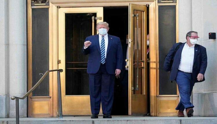دونالد ترامب يخرج من المستشفى