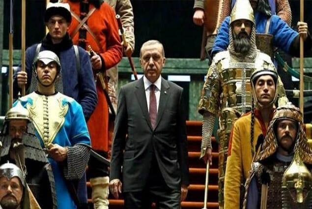 رجب طيب اردوغان ، قوة تركيا