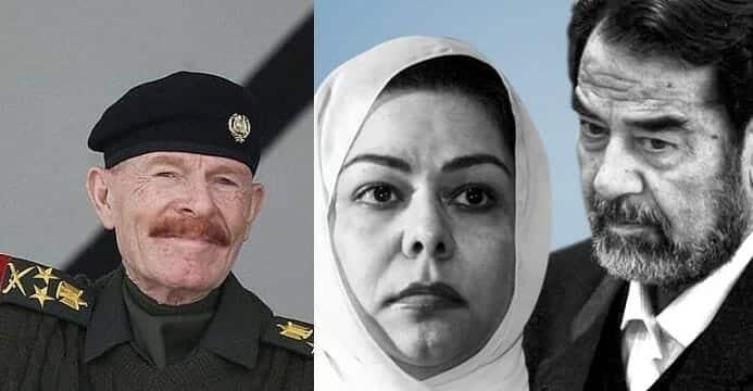 رغد صدام حسين تنعى عزة الدوري