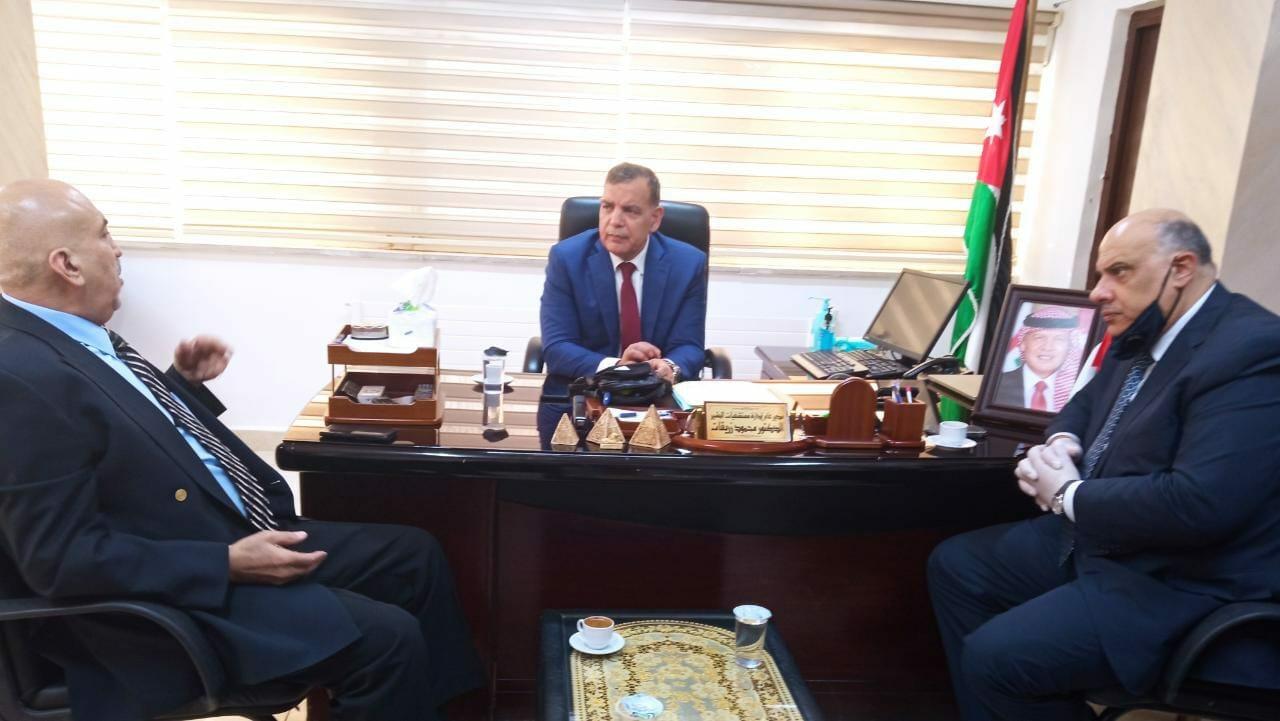 سعد الجابر وزير الصحة الأردني مستشفى البشير
