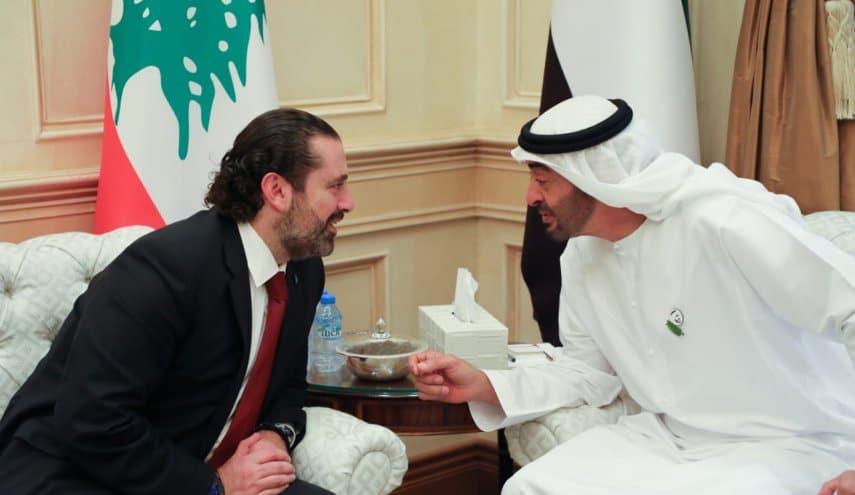 سعد الحريري ومحمد بن زايد