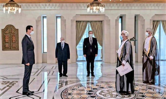 سفير سلطنة في سوريا