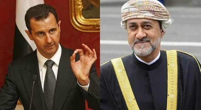 السلطان هيثم بن طارق - بشار الأسد