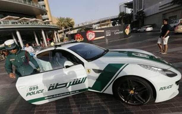 شرطة الامارات دبي