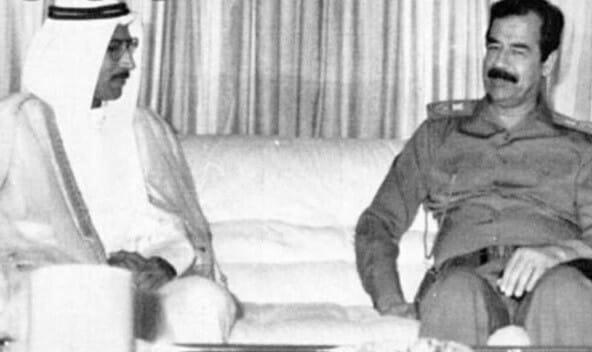صدام حسين - علاء حسين