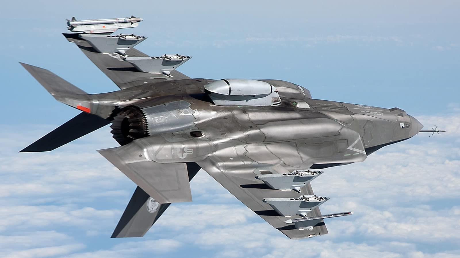 طائرة إف- 35 الأمريكية