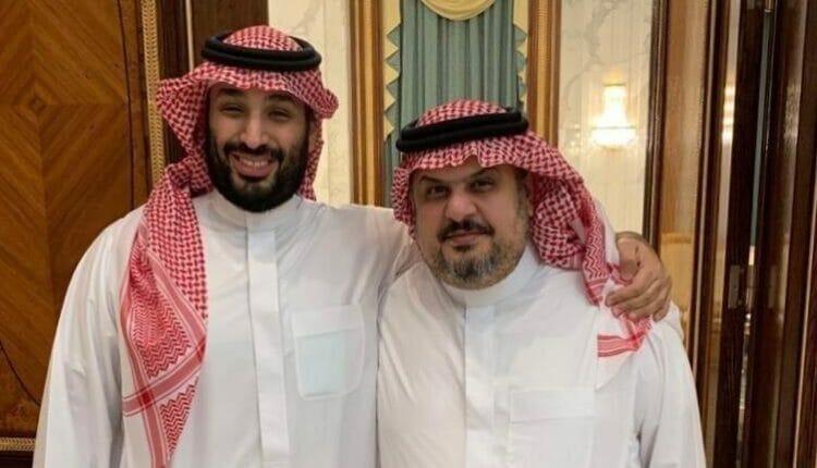 عبدالرحمن بن مساعد ومحمد بن سلمان