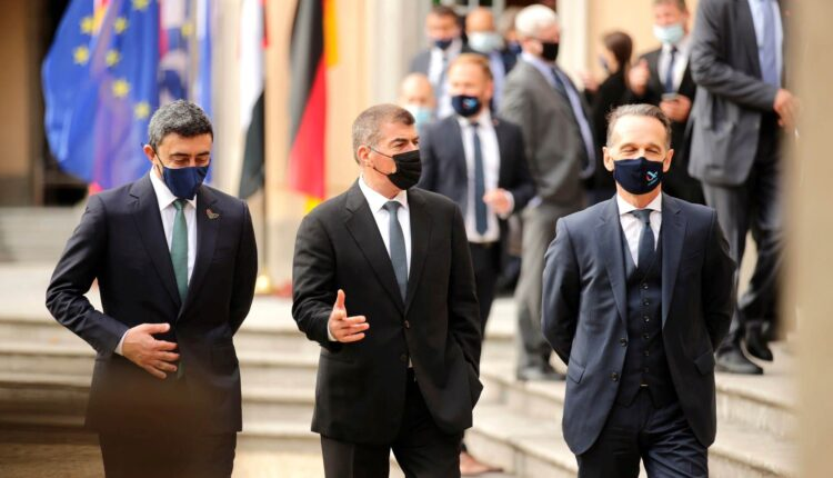 عبدالله بن زايد وغابي اشكنازي اتفاقيات الإمارات