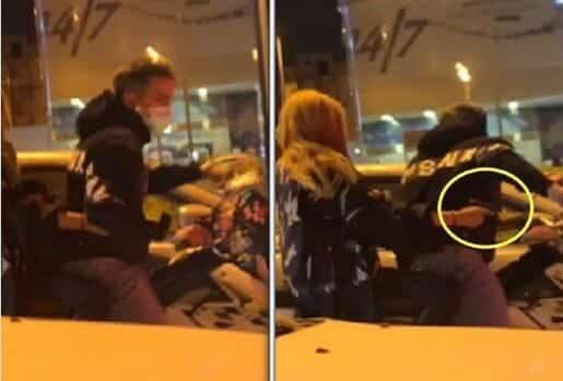 """""""شاهد"""" فتاة شقراء بالطائف مع صديقها على ظهر دراجة نارية وسلاح يفجران موجة غضب واسعة!"""