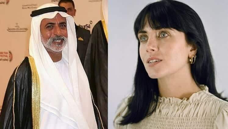 البريطانية كيتلين ماكنمارا التي اغتصبها وزير التسامح الإماراتي نهيان بن مبارك آل نهيان
