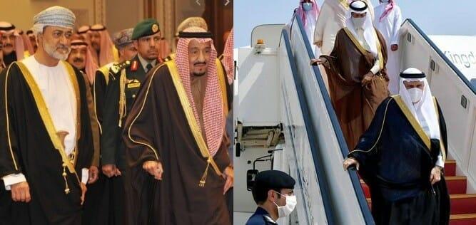 لماذا غاب الملك سلمان عن عزاء امير الكويت وحضر عزاء قابوس