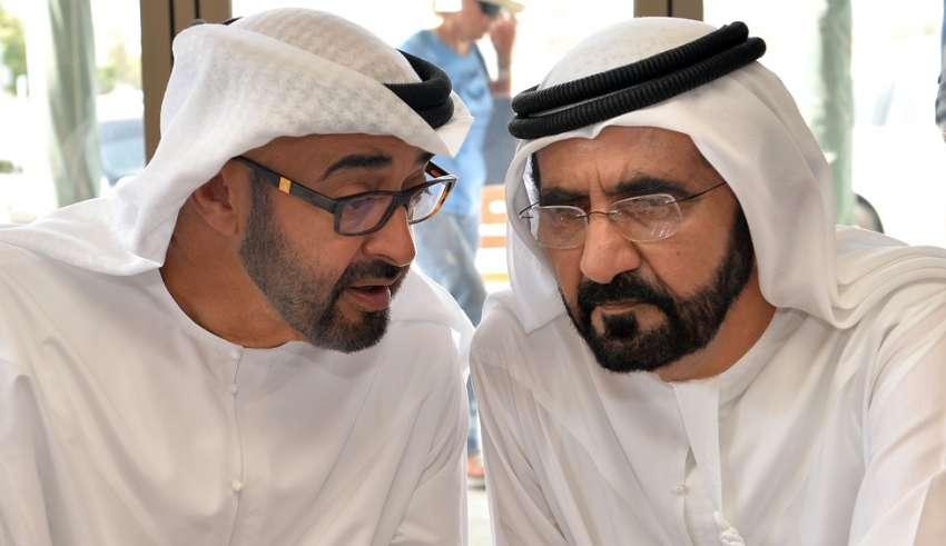 محمد بن راشد ومحمد بن زايد