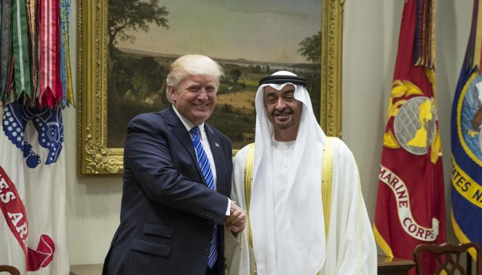 """""""نيويورك تايمز"""": الإمارات تطلب من ترامب """"أمرا محرجا"""" بشأن ابن سلمان.. واتهام قطر بتسريبه!"""