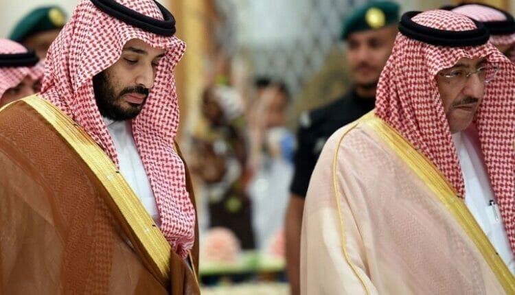 محمد بن نايف ومحمد بن سلمان - سعد الحريري