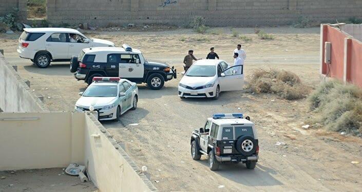 مداهمة أمنية للشرطة السعودية الرياض
