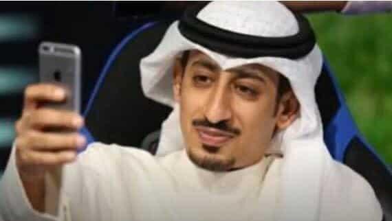 مشاري بويابس ناشط واعلامي كويتي