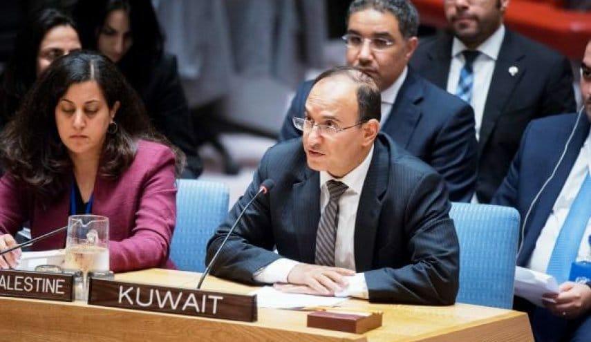 منصور العتيبي مندوب الكويت في الأمم المتحدة