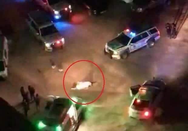 مواطنة كويتية تدهس مصريا