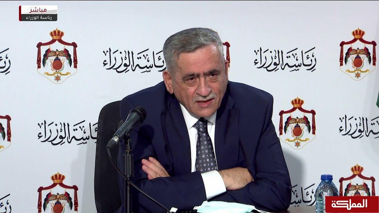 وزير الصحة الاردني نذير عبيدات