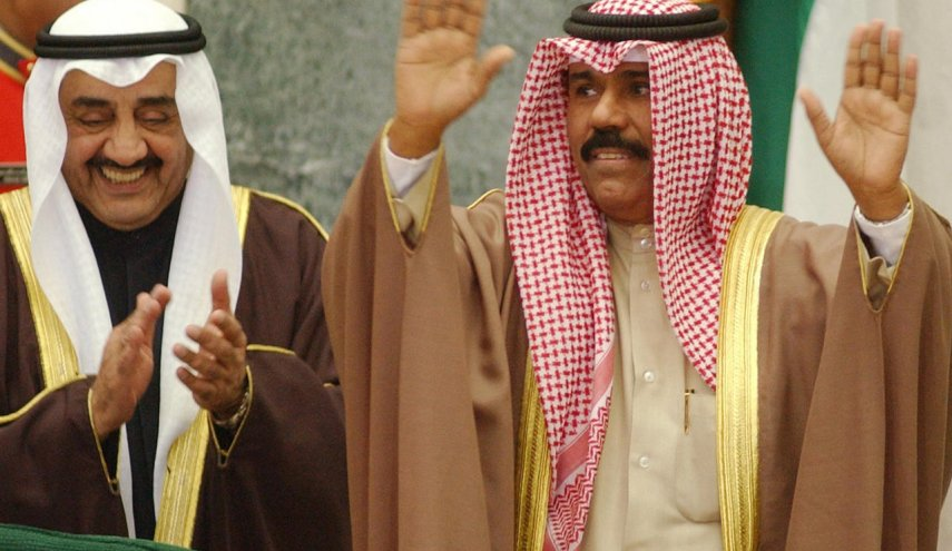 أمير الكويت الجديد نواف الأحمد