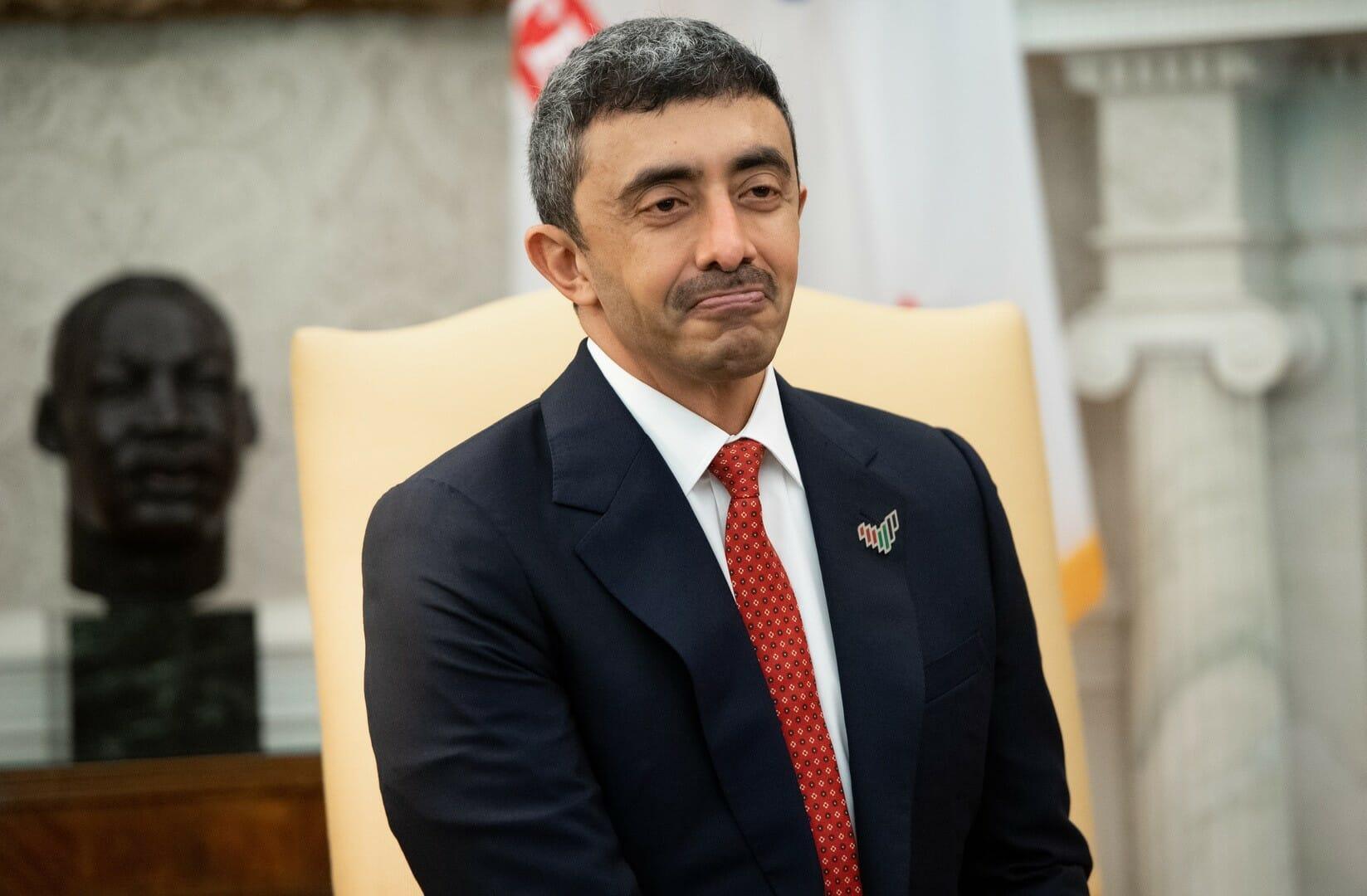 وزير خارجية الامارات عبدالله بن زايد