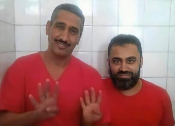 ياسر شكر و ياسر الأباصيري اعدمهما النظام المصري