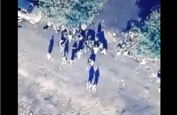 قصف أذربيجان لجيش الأرمن